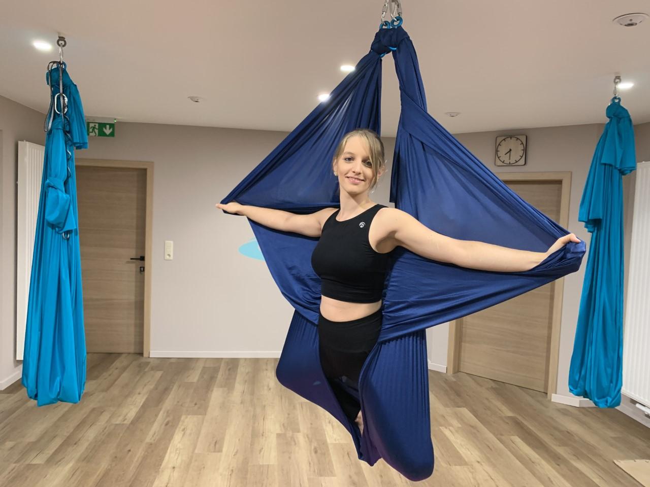 Yoga aérien Charleroi Gerpinnes Homeostasia