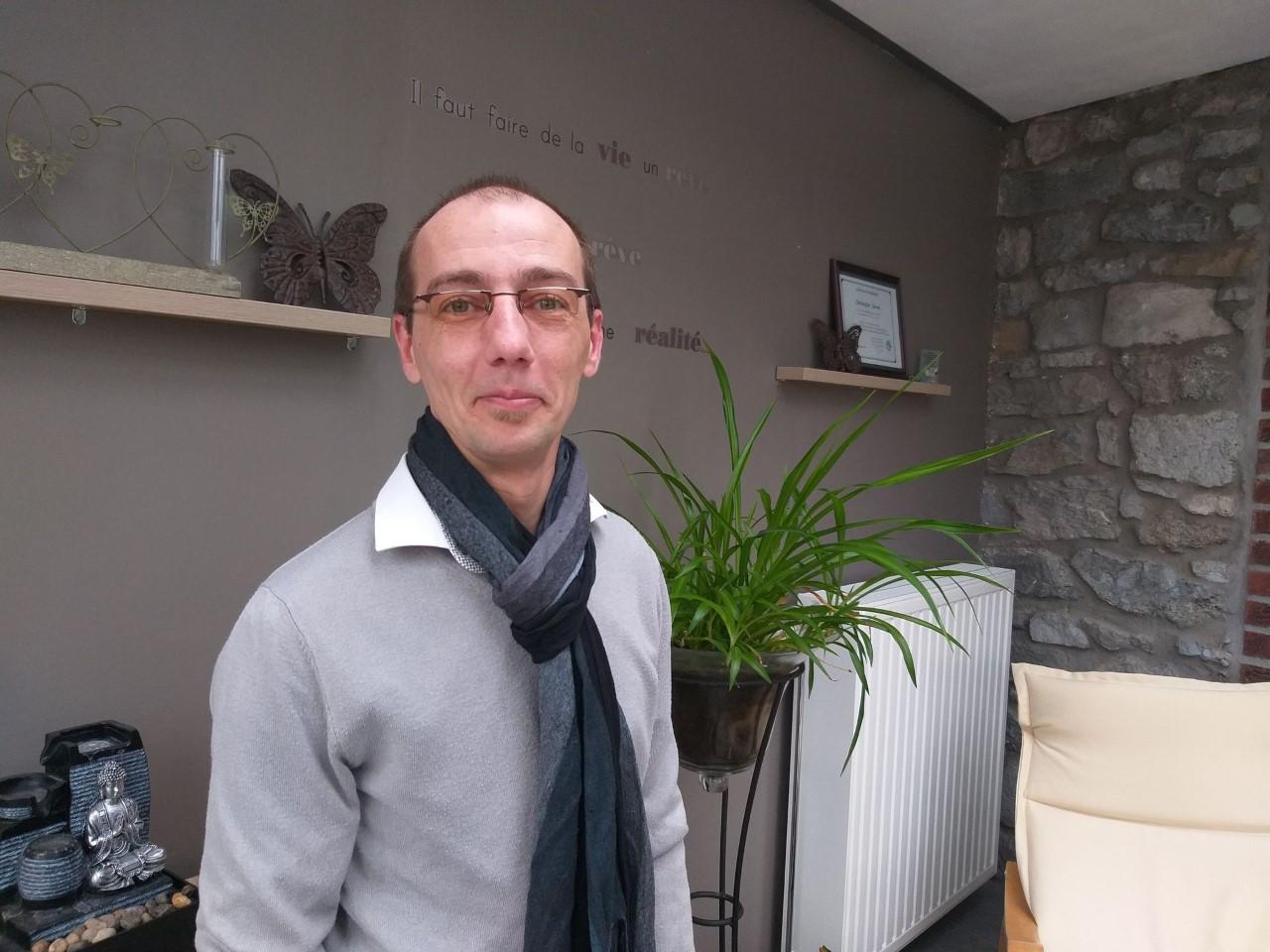 Christophe Devos - praticien EFT- Homeostasia Gerpinnes